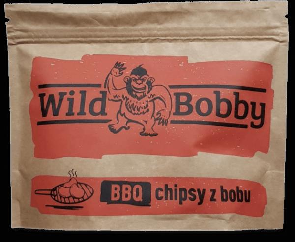 Wild Bobby chipsy z bobu BBQ